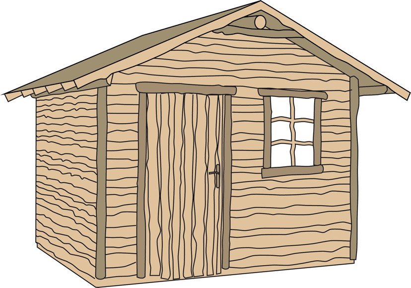 ger tehaus weka nature 1 gartenhaus holz haus bausatz. Black Bedroom Furniture Sets. Home Design Ideas