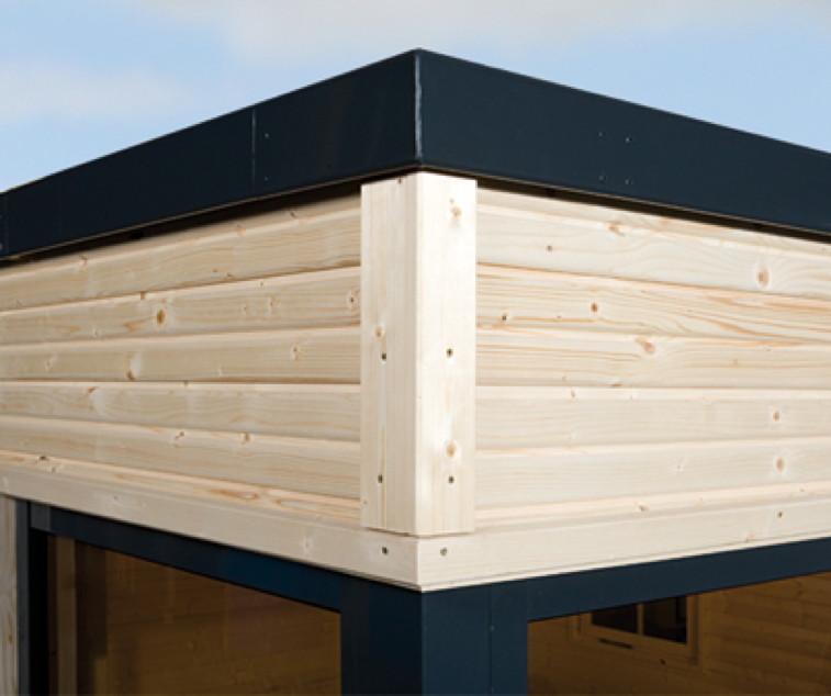 dach f r gartenhaus das richtige dach f r ihr gartenhaus. Black Bedroom Furniture Sets. Home Design Ideas
