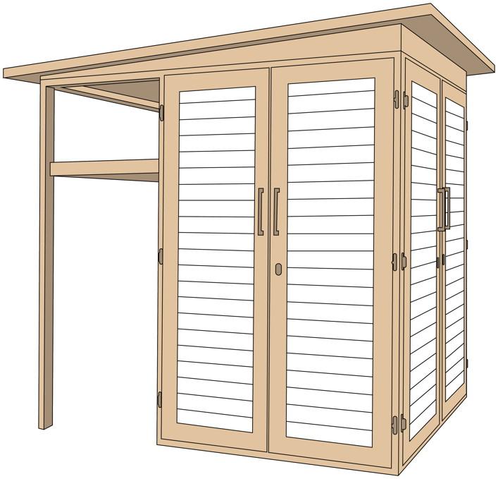 ger teschrank weka garten q multi mit unterstand ger teschrank gartenschrank. Black Bedroom Furniture Sets. Home Design Ideas