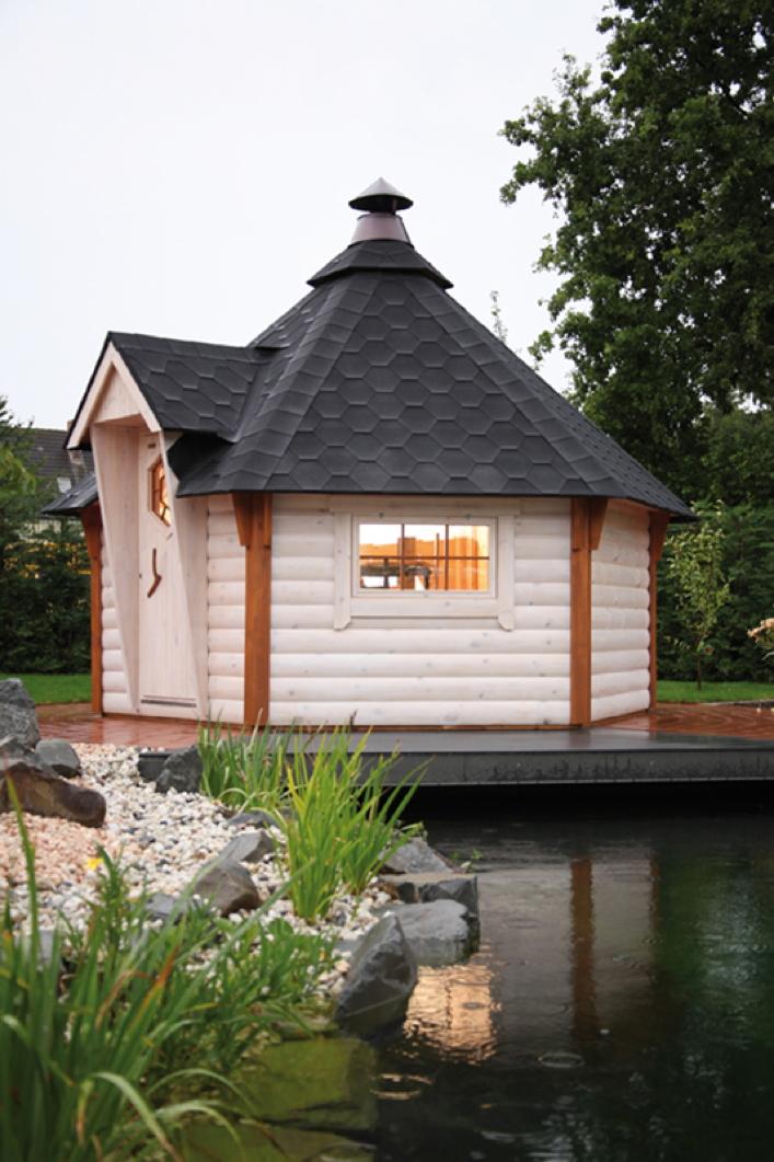 kota grillkota 9 de luxe grillhaus gartenhaus aus. Black Bedroom Furniture Sets. Home Design Ideas