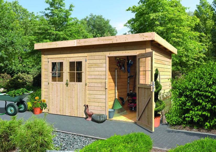 gartenhaus woodfeeling tintrup und mattrup. Black Bedroom Furniture Sets. Home Design Ideas