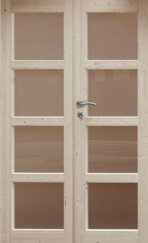 doppel t r leif holz nachr stelement f r gartenh user holzh user nebeneingang vom garten. Black Bedroom Furniture Sets. Home Design Ideas